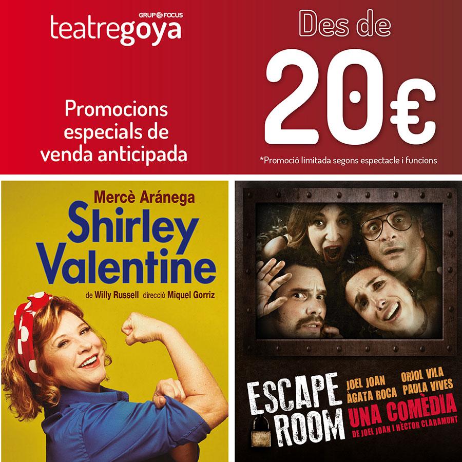 teatre goya barcelona promocions