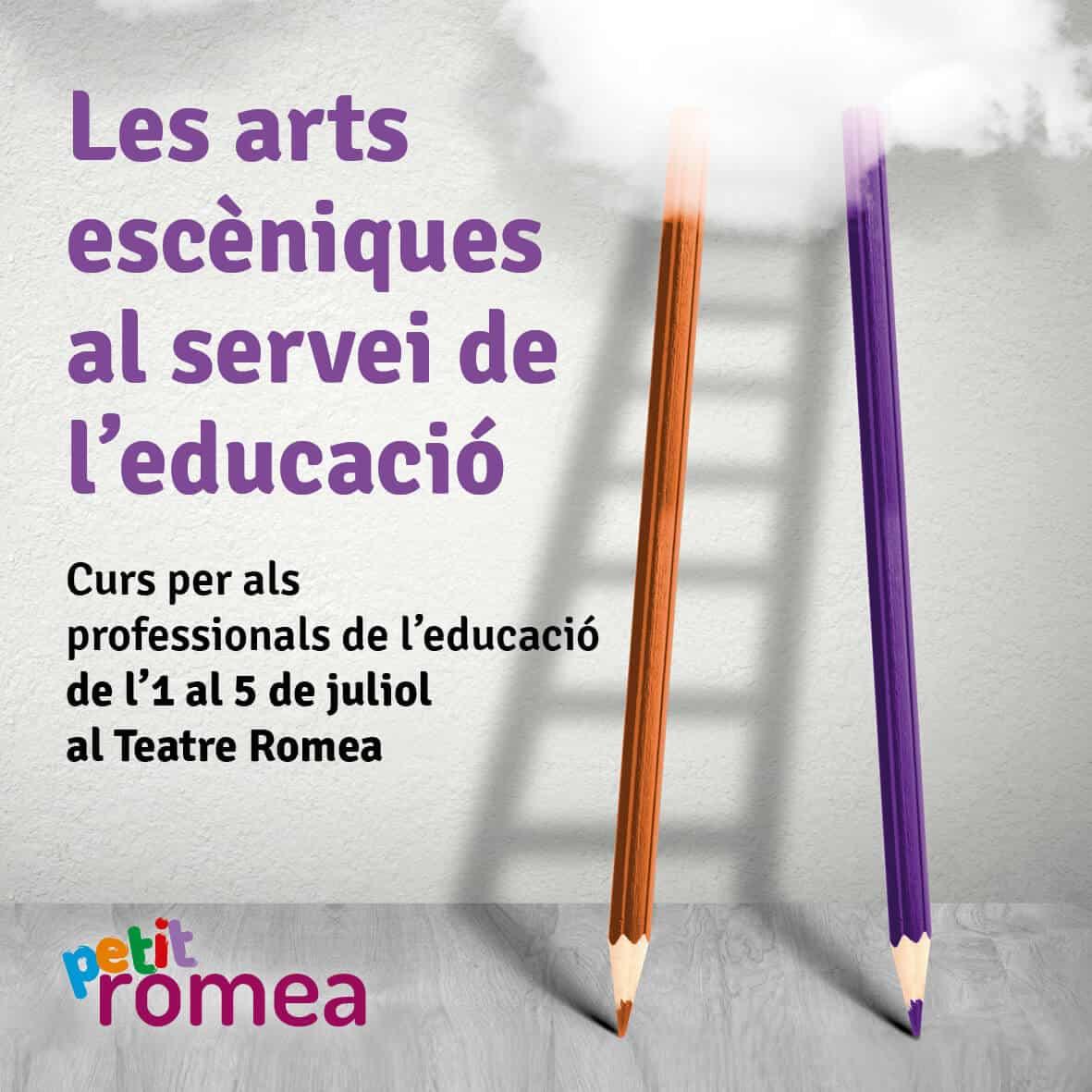les arts escèniques al servei de l'educació - Viu el Teatre - Petit Romea