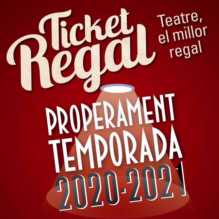 regala teatre barcelona 2020